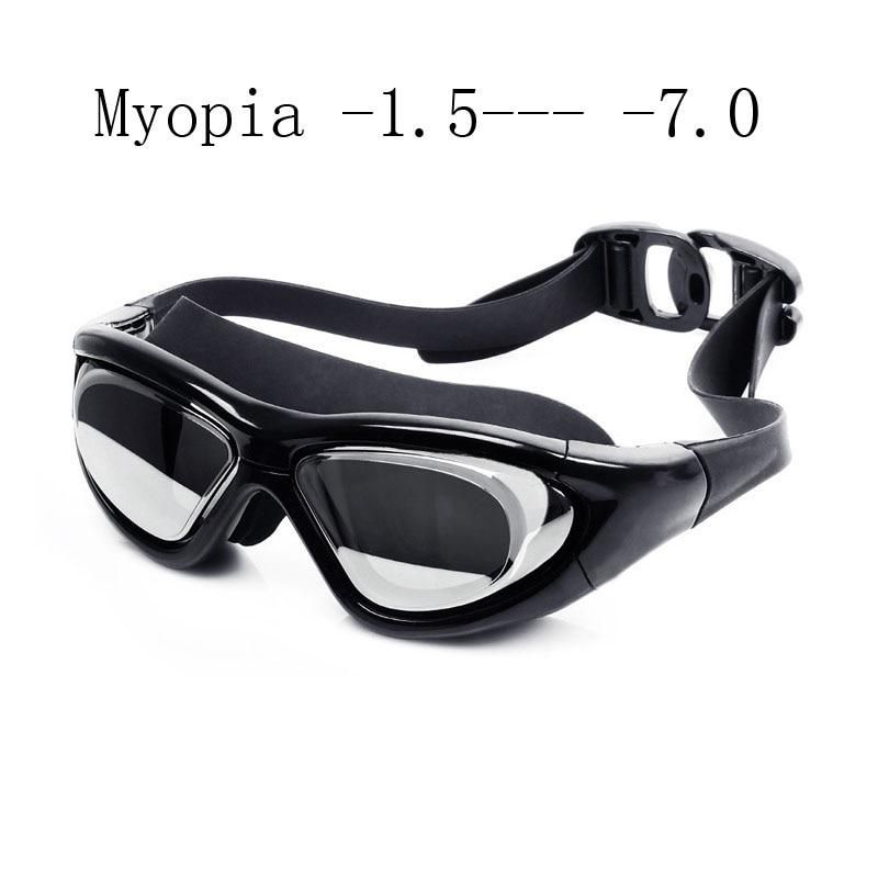 f28f6018e065 Super big Swimming glasses myopia Adult silicon Swimming goggles optical anti  fog adjustable water goggles swim eyewear. Yesterday s price  US  12.88  (11.47 ...