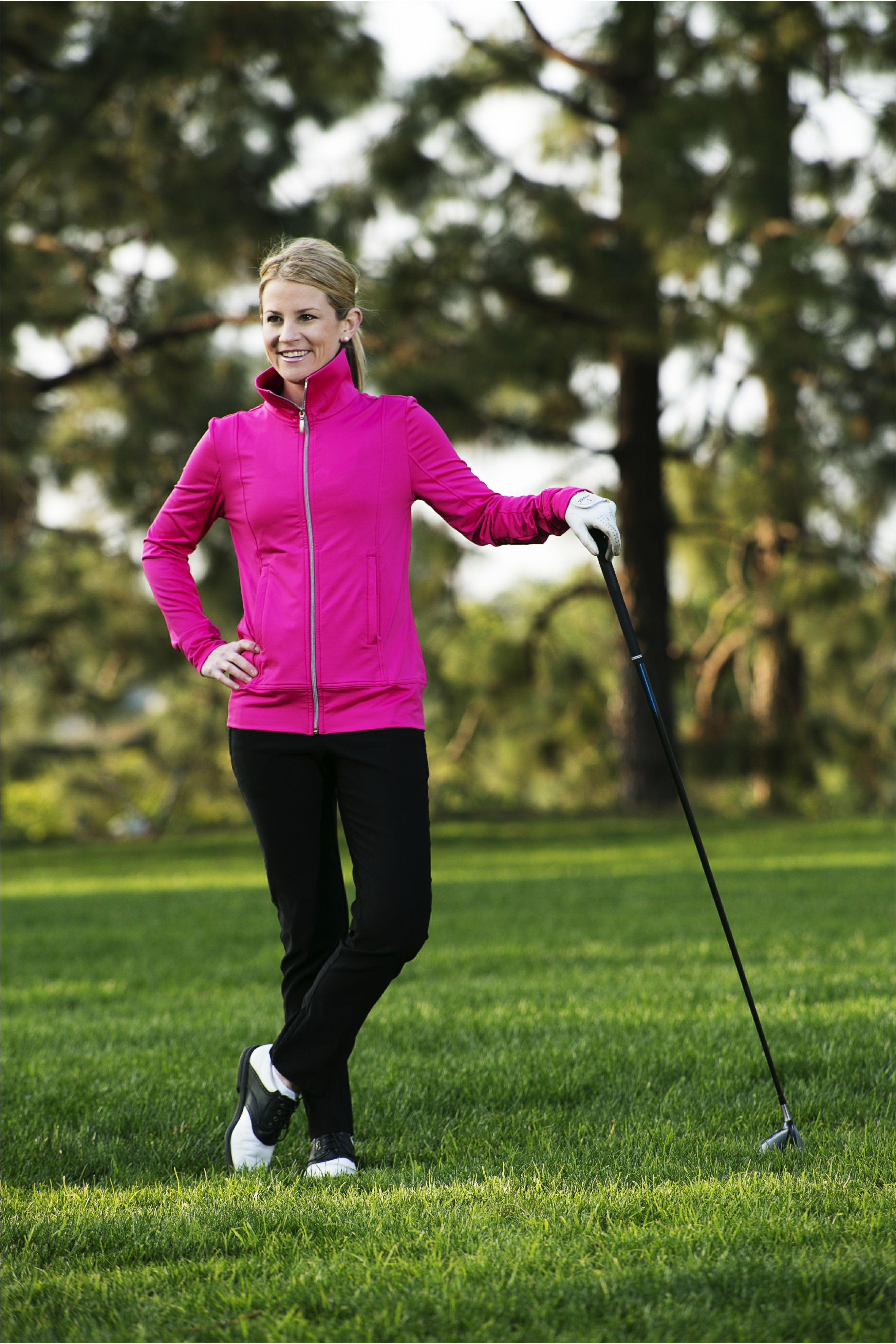 women's performance jacket  golf apparel  carnoustie