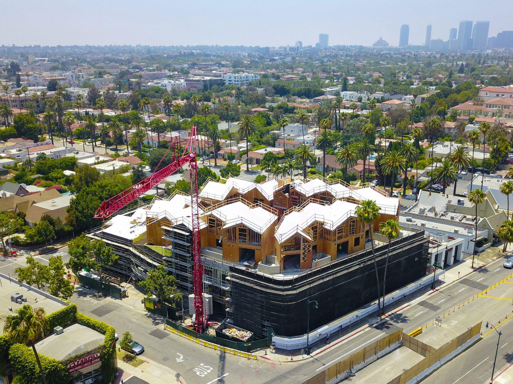 Gardenhouse Mad Architects Architect Architecture Beverly Hills