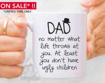 Fathers Day Mugs Gifts For Dad From Daughter Gift Baby Girl New Birthday MU134