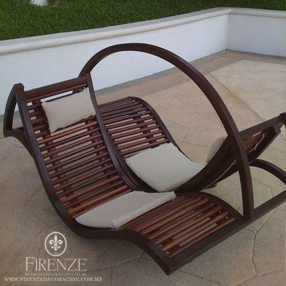 Firenze #madera #muebles #jardin #exteriores #sillas | sillas ...