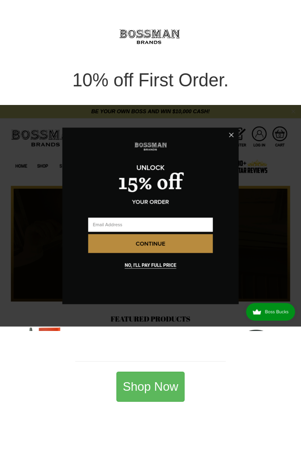 Best Deals And Coupons For Bossman Brands In 2020 Cash Rewards Brand Tags Discount Shopping