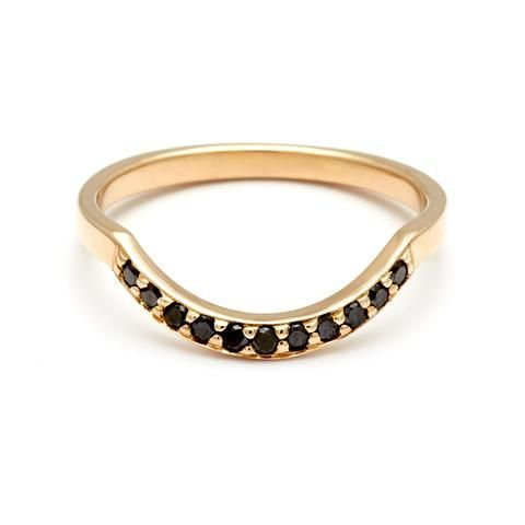 Black Diamond Dusted Curve Band