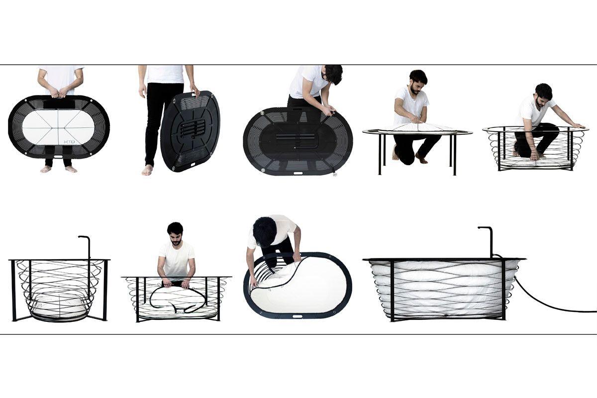 Xtend Portable Bathtub Tragbare Badewanne Badkuipen Kleine Badkamer Badkamer