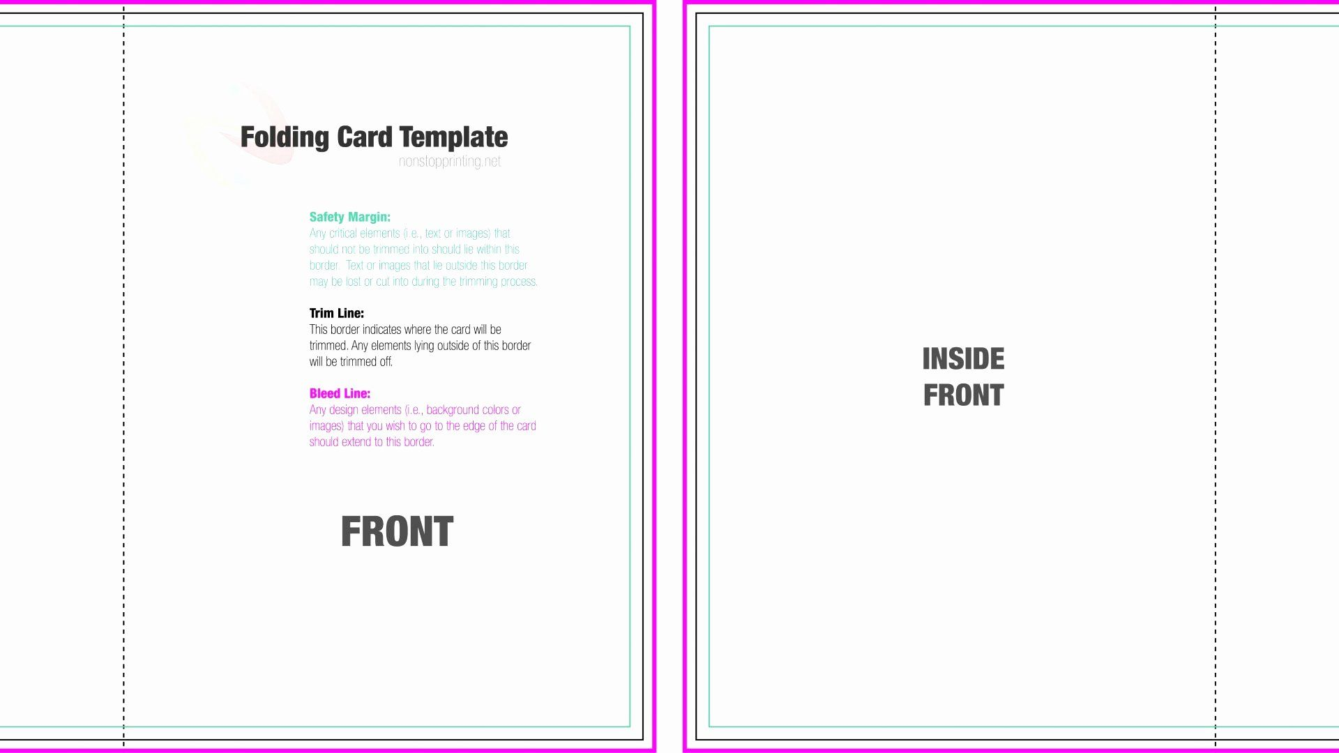 Folding Business Card Templates Best Of 11 12 Folded Birthday Card Template Foldable Business Cards Folded Business Cards Free Business Card Templates