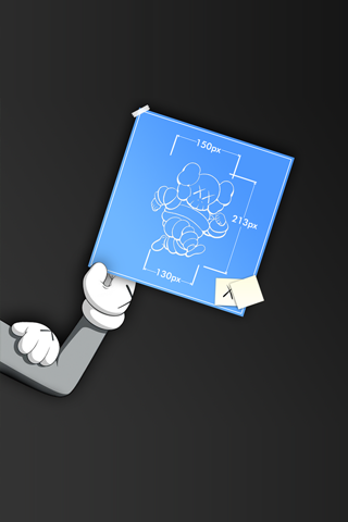 Kaws Iphone Blueprint Android Wallpaper Hd