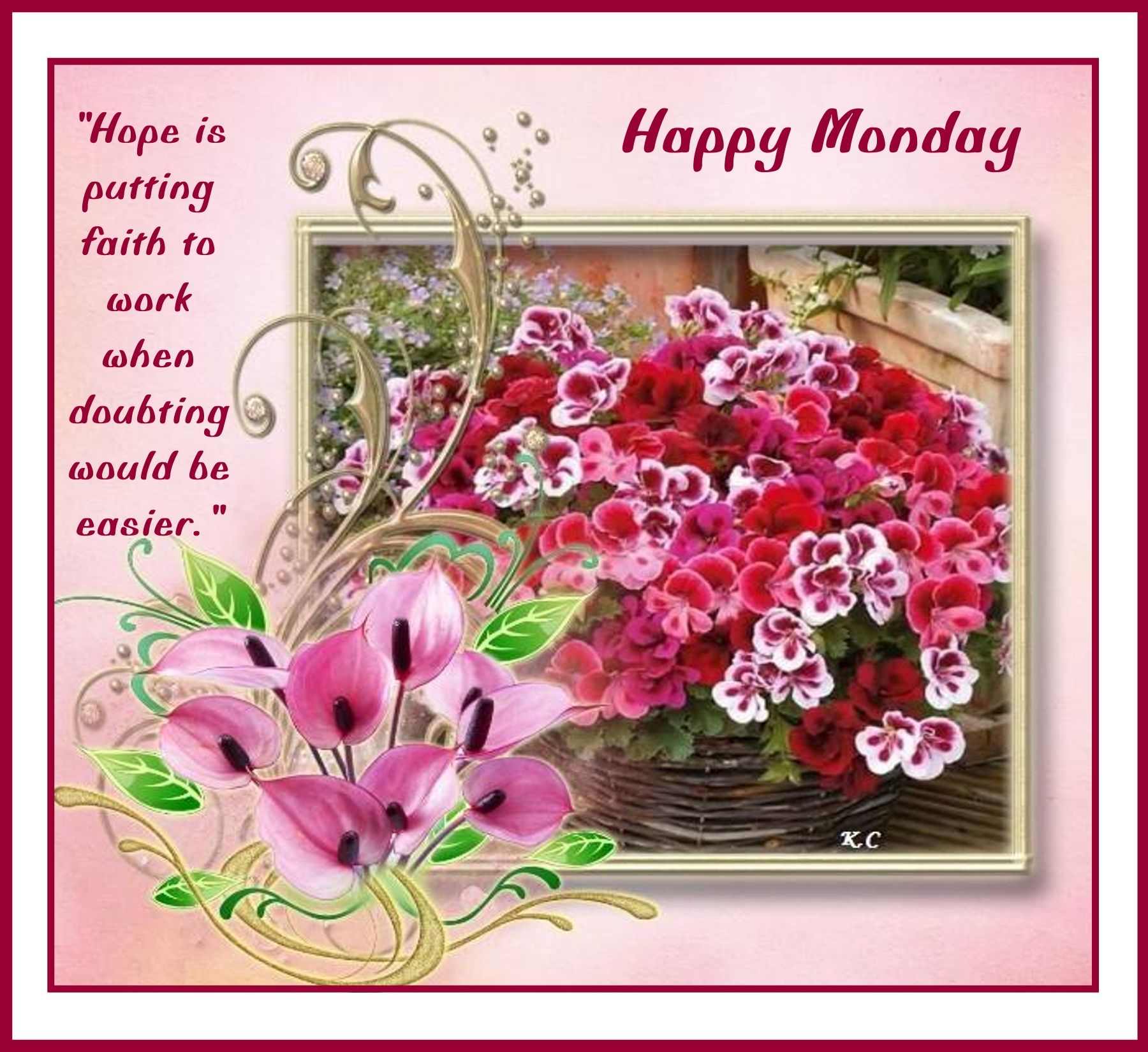 Pin By Rosa Well On Monday Blessings Pinterest Monday Greetings