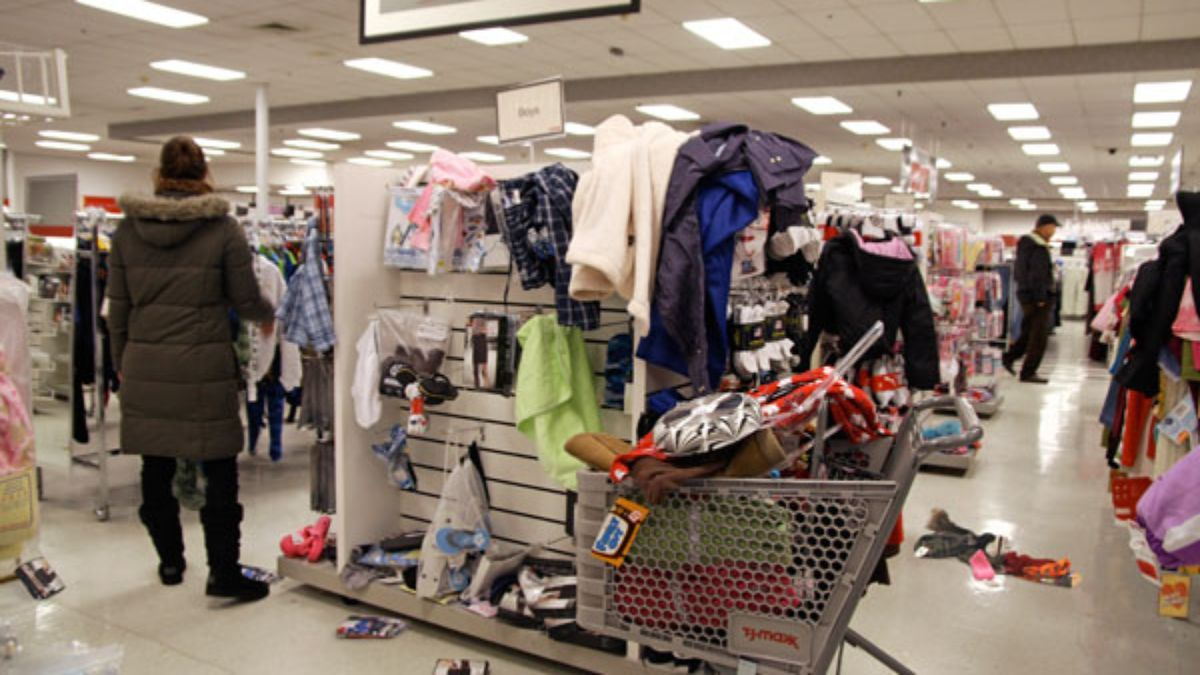 Difficult To Tell If T.J. Maxx Hit Hard By Recession
