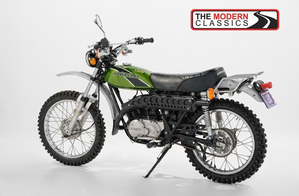 1975 Kawasaki F7 175 Enduro Classic Motorcycles Classic Bikes Kawasaki Bikes