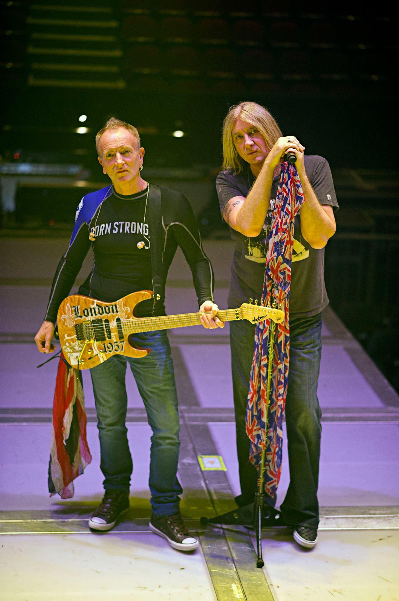 Phill and Joe - Def Leppard