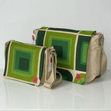 Le borse dai tessuti vintage di Ella since Osix