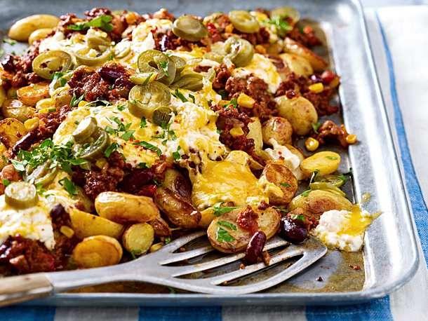 Easy-peasy Tex-Mex-Kartoffeln #easymexicanfoodrecipes