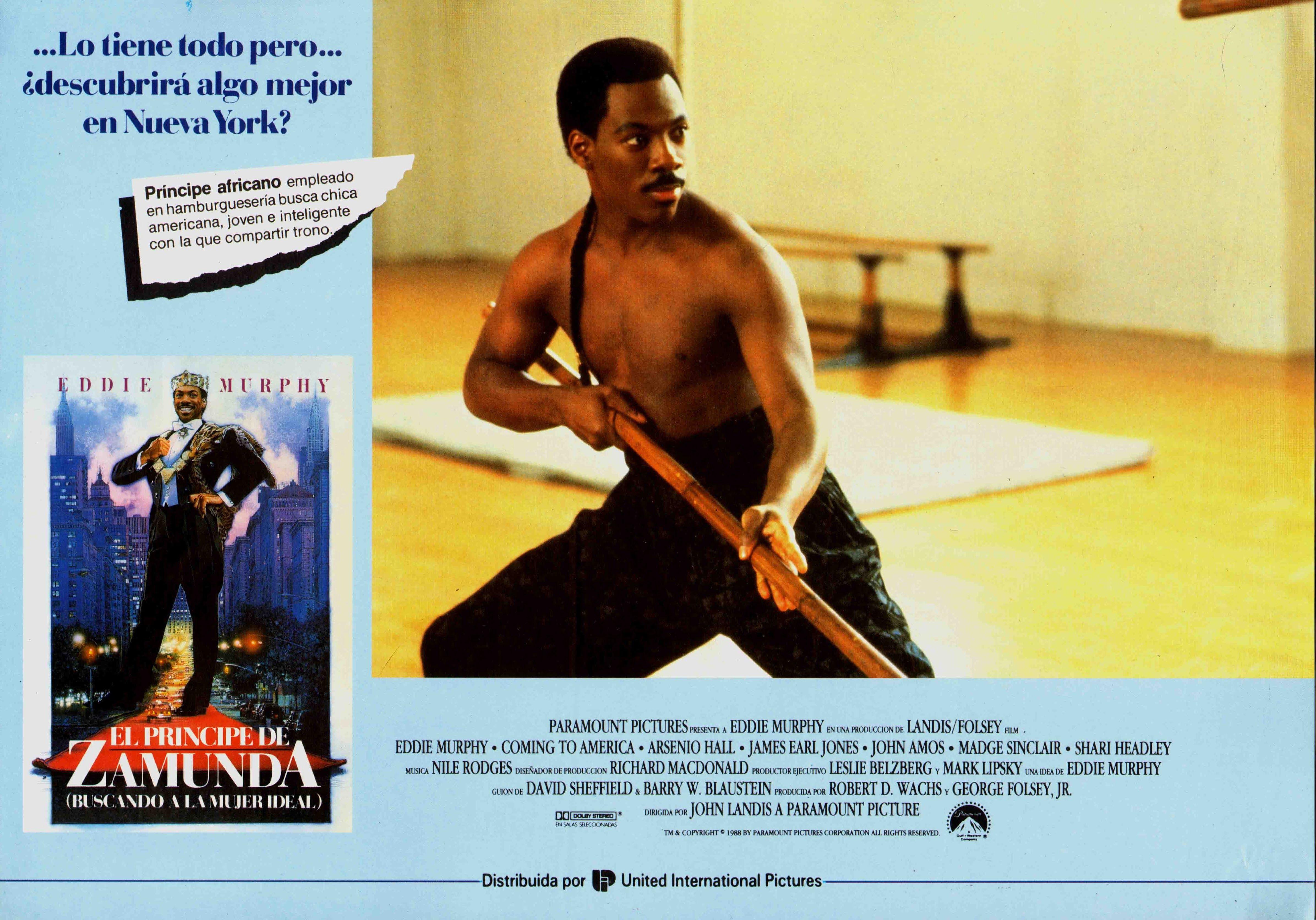 1988 / El Príncipe de Zamunda - Coming To America