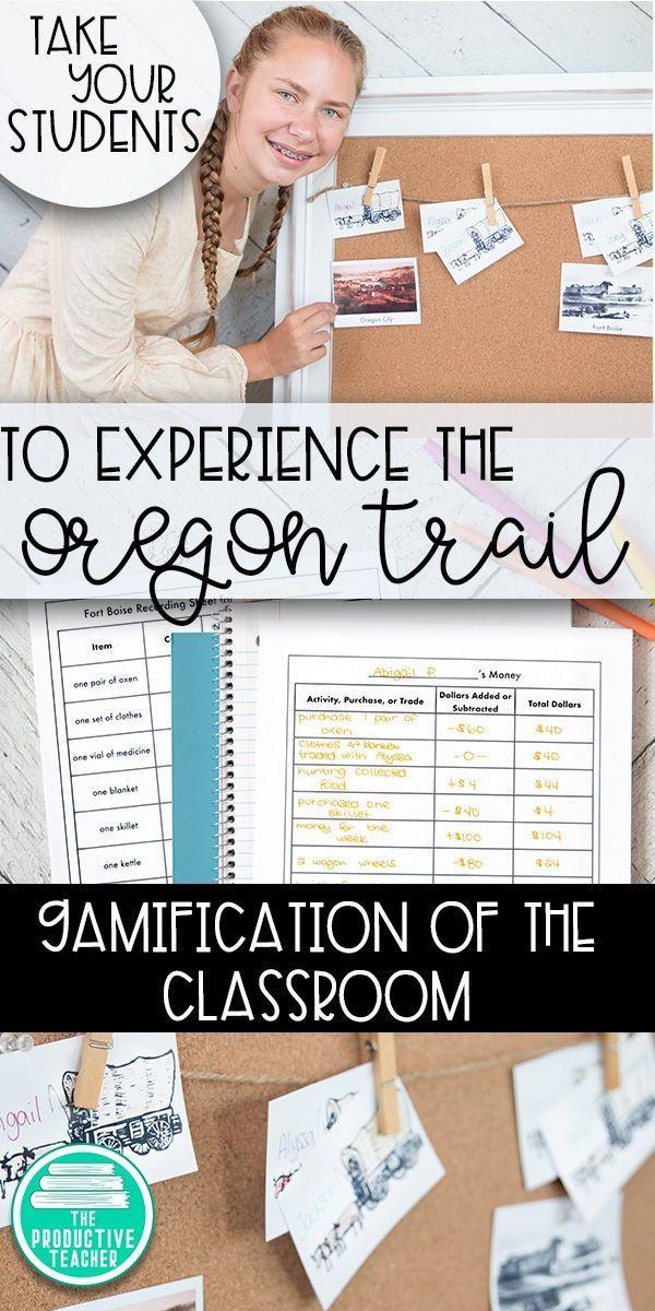 Classroom Game The Oregon Trail Cute School Stuff Pinterest
