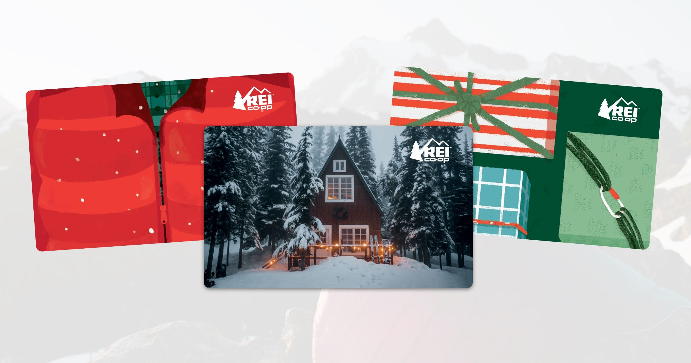 Grant their outdoor gear wishes buy an rei gift card