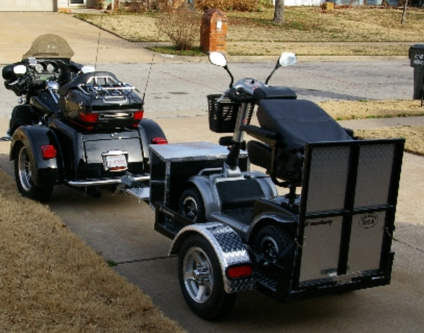 medium resolution of motorcycle rider and want to take your mobility scooter or powered wheelchair with you no