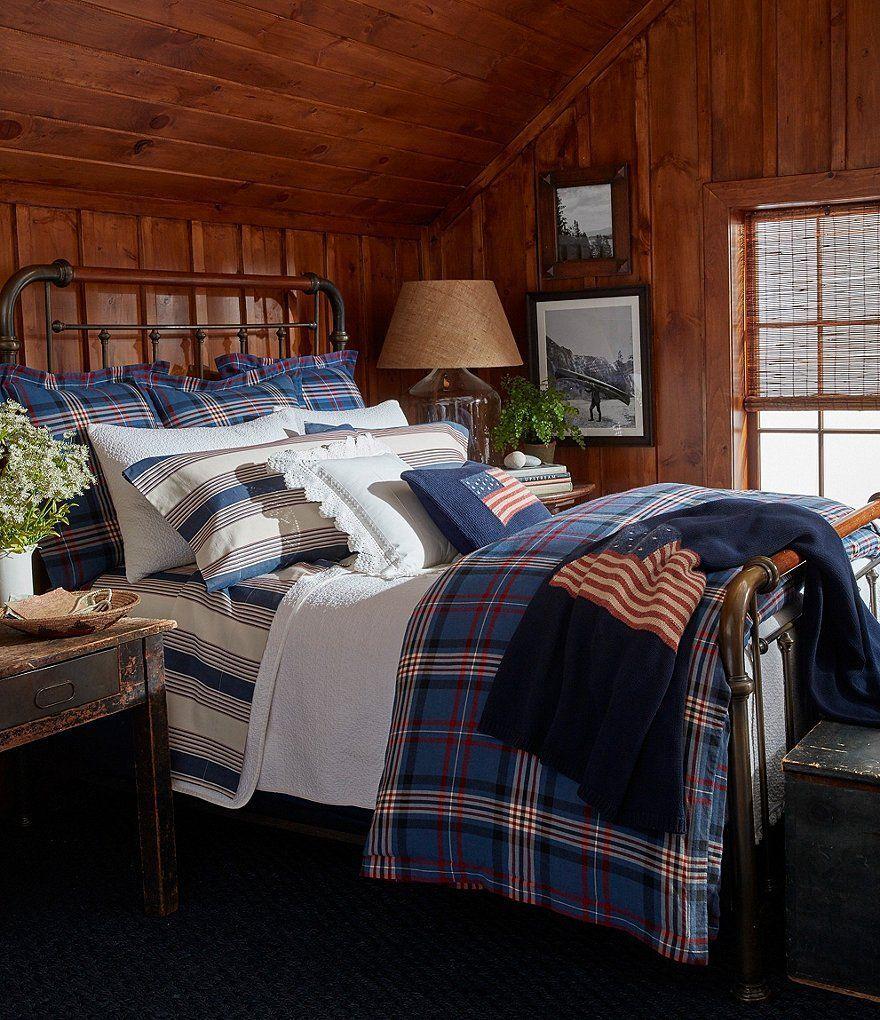 ralph lauren rustic bedroom Saranac Peak Ralph lauren