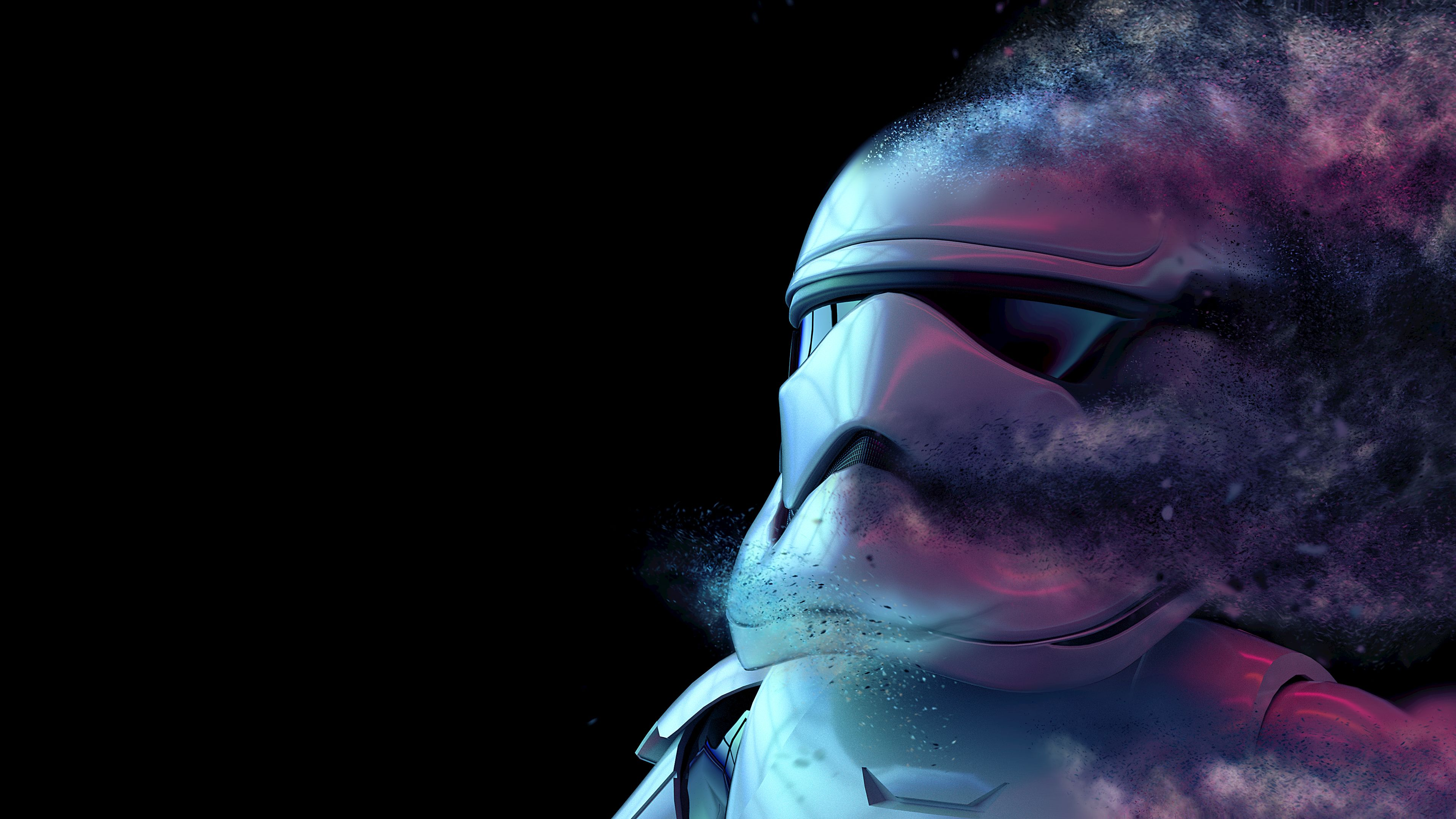Storm Trooper Digital Art 4k Star Wars Wallpaper Star Wars Background Landscape Wallpaper