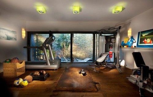 ホームジムを自宅に作ってみた!ホームトレーニングもありですよ ... home gym 1st | ホームジム, ホームジム 作り方, ジムインテリア