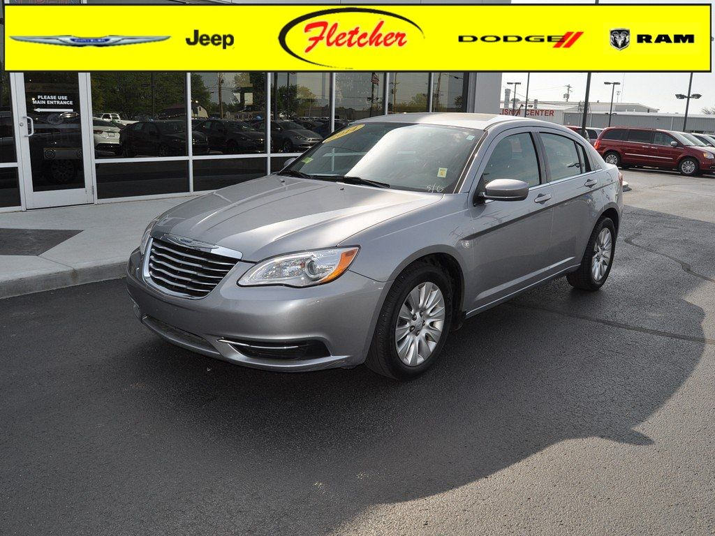 2014 Chrysler 200 Lx Sedan Billet Silver Exterior Black Interior