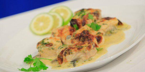 Cbc Sofra طريقة عمل طاجن سمك فيليه بصوص الكريمة والليمون هشام السيد Recipe Food Recipes Seafood