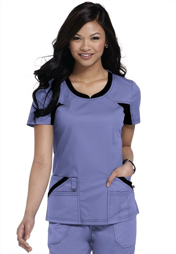 2748fd6e9f6 Dickies Performance System V-neck scrub top | Scrubs for Women ...