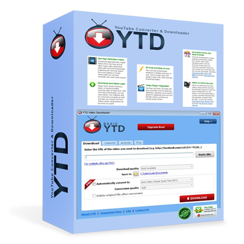 Download Latest YouTube Downloader Pro YTD Setup With Any