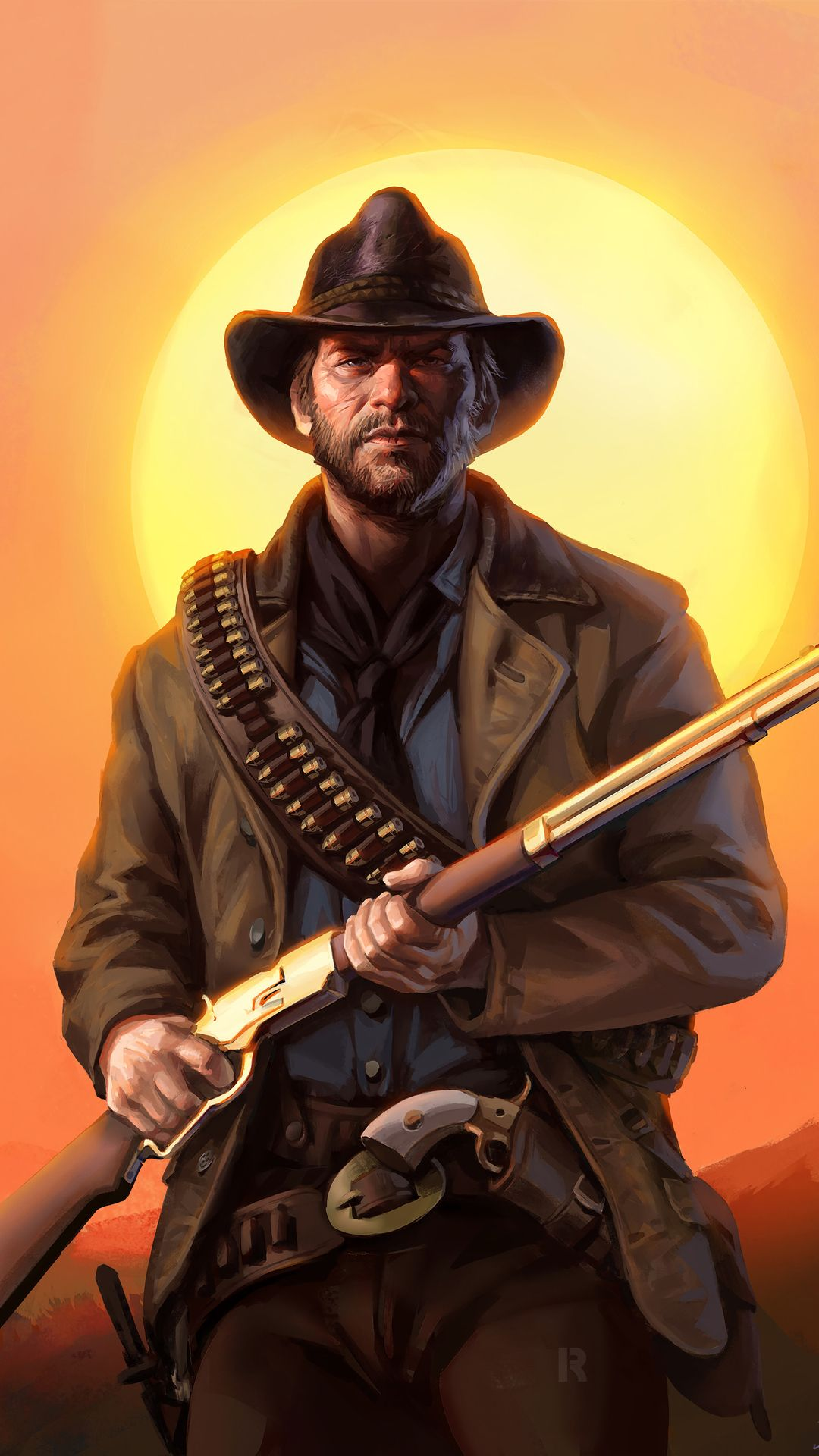 Arthur Morgan from Red Dead Redemption 2 | Oyun dünyası ...