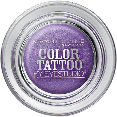 5 Maybelline Eyestudio Color Tattoo 24 Hour Eyeshadow Painted Purple Bnws 5 Maybelline Color Tattoo Color Tattoo Eyeshadow Tattoo Eyeshadow