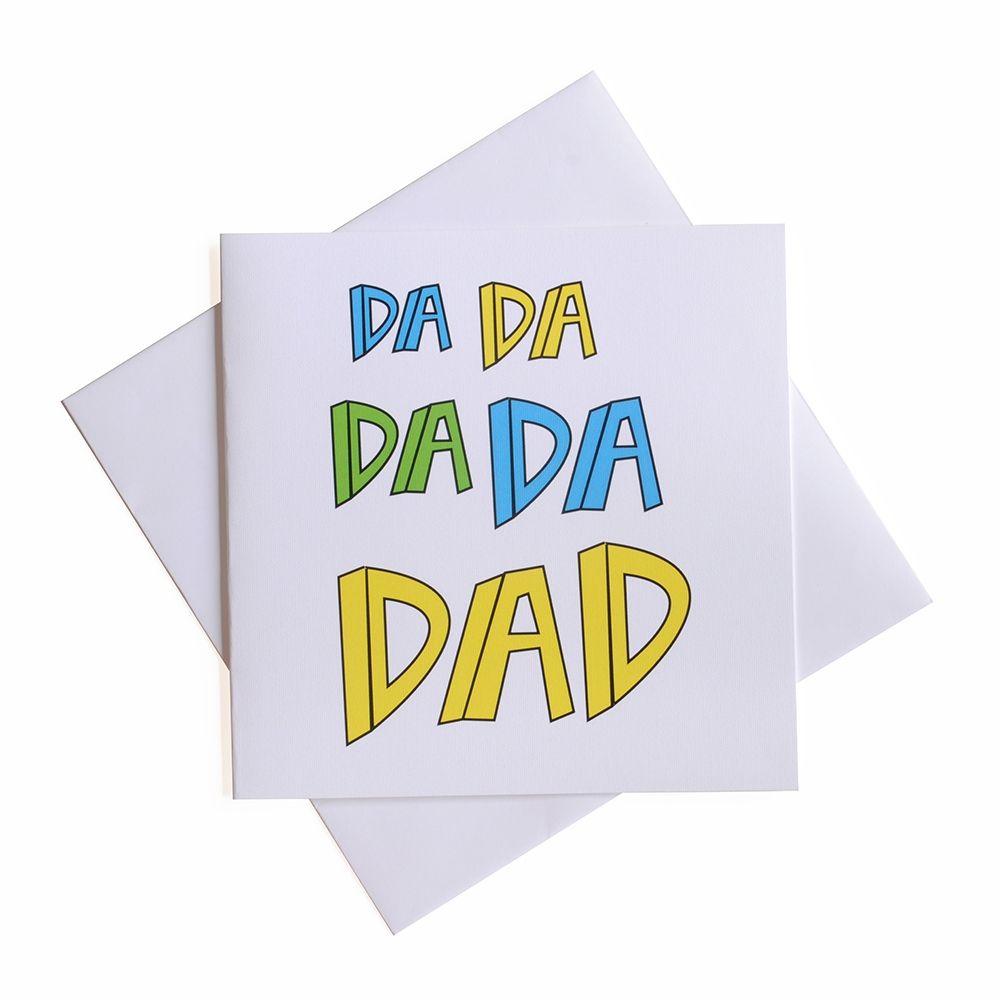 Da da da da dad card
