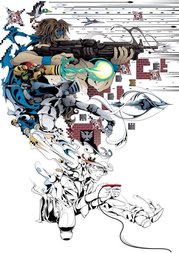 The Gamer by Man-Tsun, infuckingcredible! :D