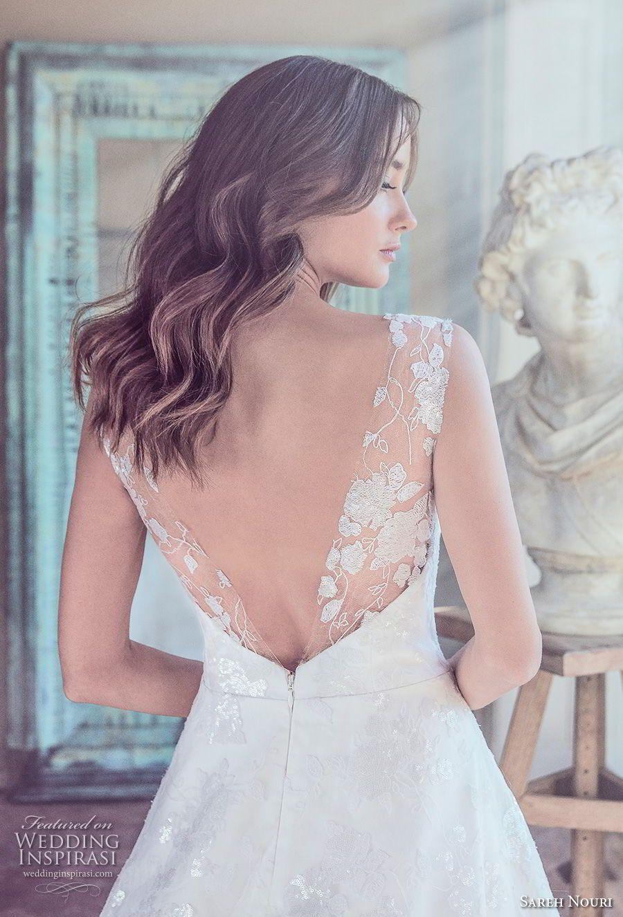 "Sareh Nouri Spring 2019 Wedding Dresses — ""Swan Lake"" Bridal Collection"