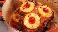 Jambon fumé à l'ananas | Télé-Québec | Un chef à la cabane | http://unchefalacabane.telequebec.tv/recettes/7/jambon-fume-a-l-ananas