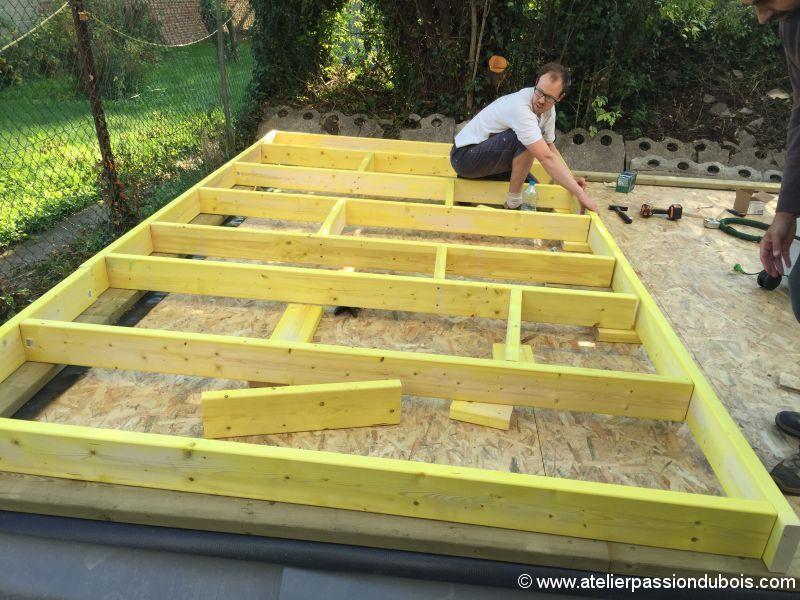 construction atelier bois | Construction | Construccion en madera ...