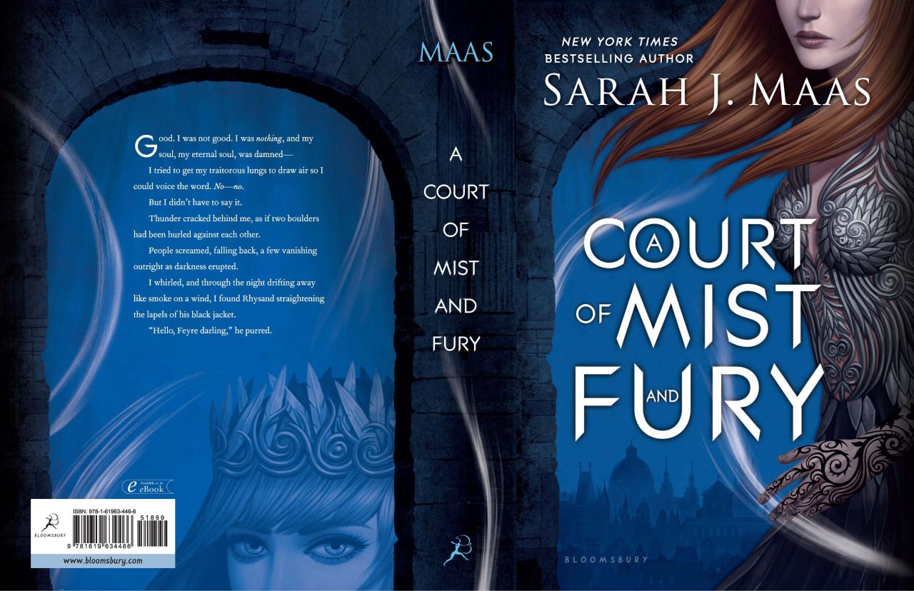 Check Out The Back Covers For A Court Of Mist And Fury Not Long