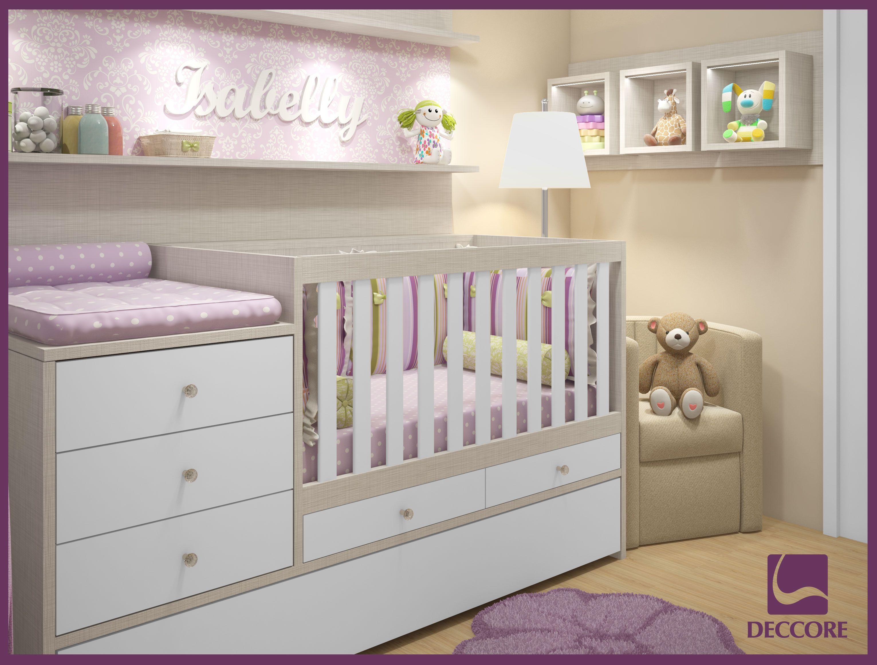Ber o com trocador pesquisa google dormitorio de bb - Baby jungenzimmer ...
