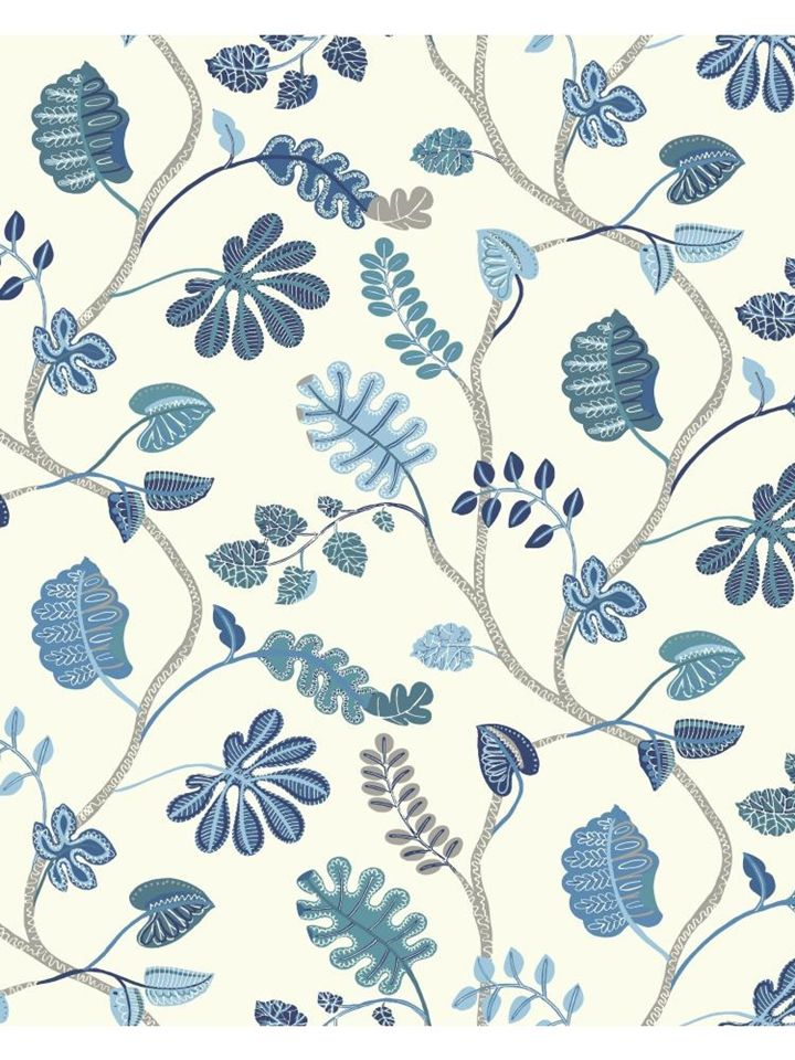 WP2402 Wallpaper Waverly Small Prints AmericanBlinds