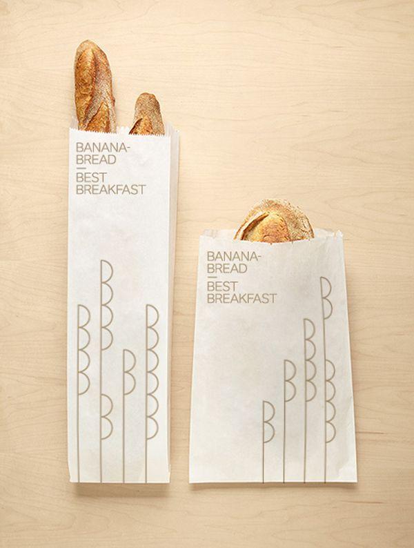 Bananabread by Kevin Sabariego, via Behance