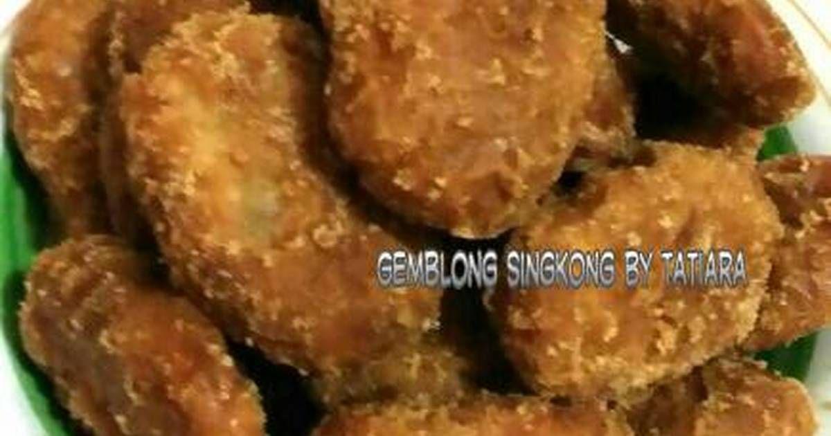Resep Gemblong Singkong Oleh Tatiara Recept Eten