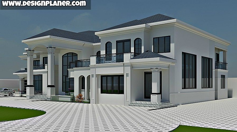 Designed Home Plans Luxuryhouses Modern House Plans House Plans Mansion Duplex House Design