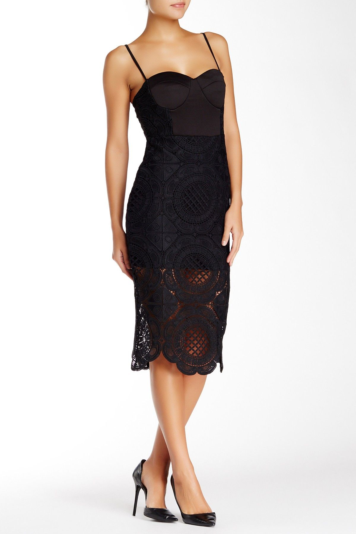 Sweetheart Lace Dress by Madison Square + Wilde Heart on @HauteLook