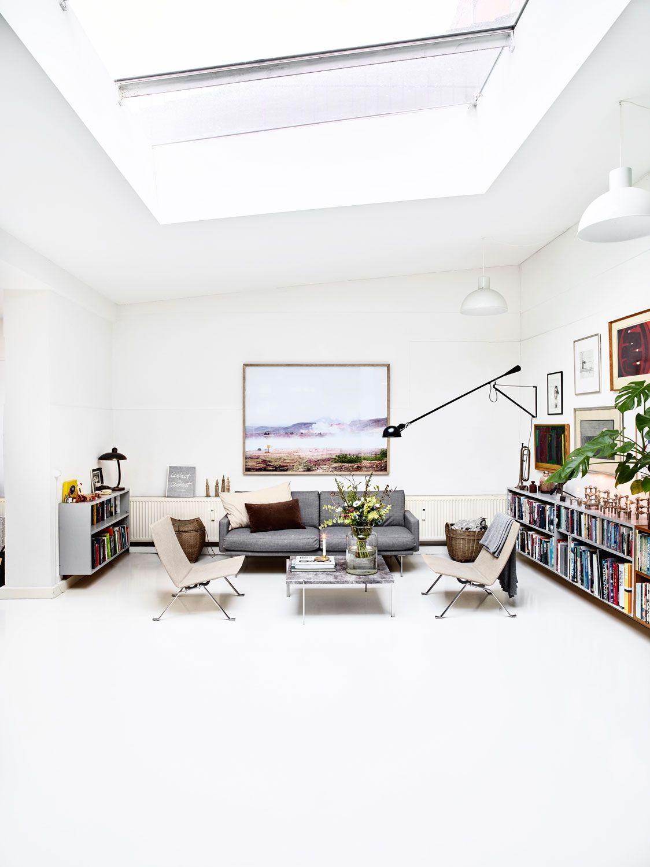 Loft Interior Pk22 Chair Mid Century Modern Art Wall