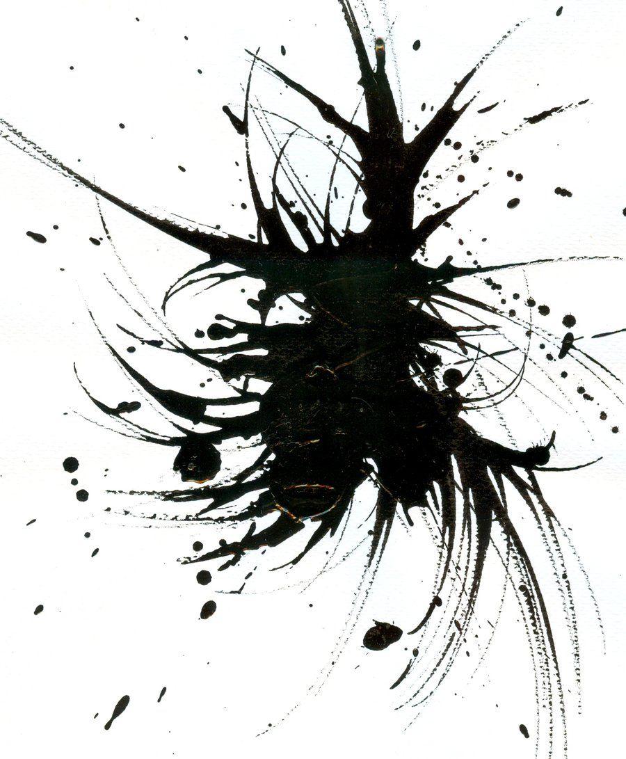 Ink Splatter 1 by Aushou.deviantart.com | tattoo ...