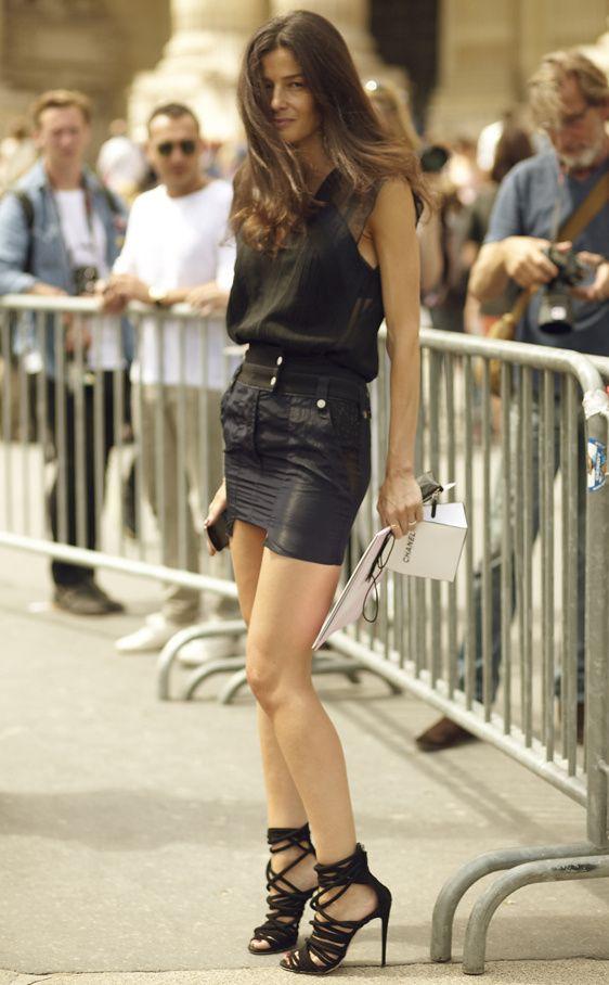 Bárbara Martelo. Estilista de Vogue España. Invitada al desfile de HC de Chanel. Y Coruñesa. (: