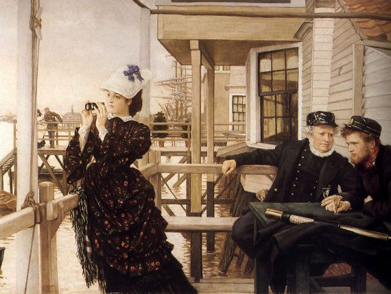 The Captain's Daughter James Tissot French by Vintagemasters