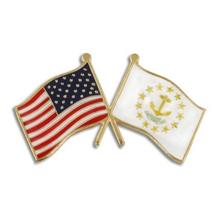 Maryland USA Flag Lapel Pin Badge