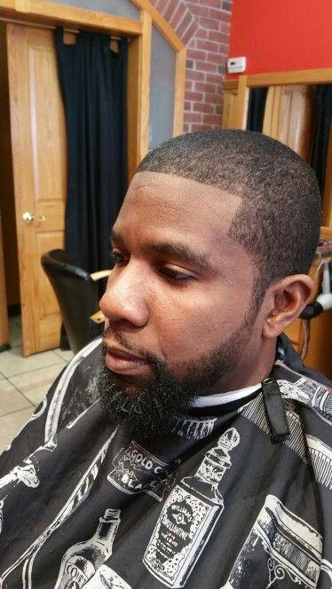 Black Caesar Cut : black, caesar, Caesar, Beard, Shape-Up, Haircut,, Shapes,, Haircut