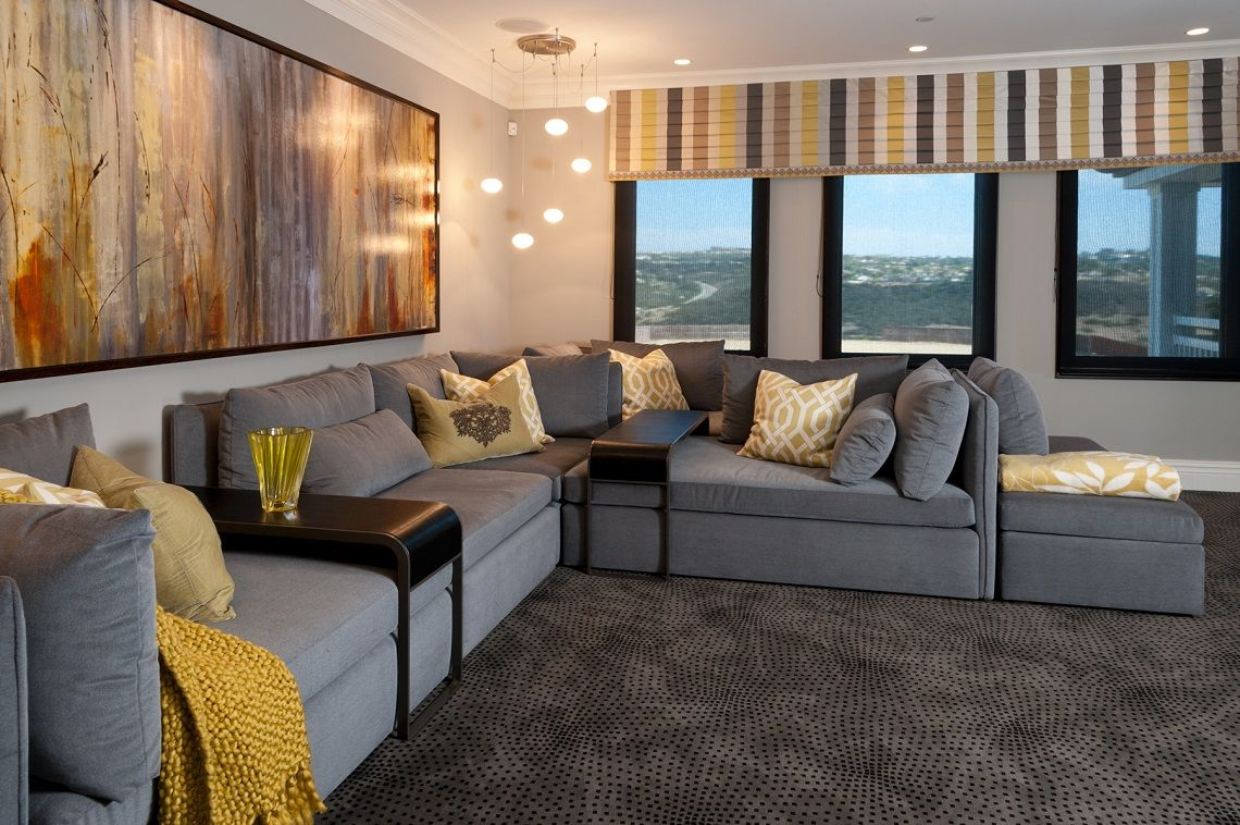 Hamptons inspired luxury home theater room robeson design Hamptons inspired luxury home theater room robeson design home