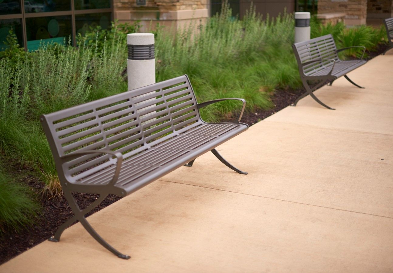Elegant Exposition Bench By Anova Furnishings
