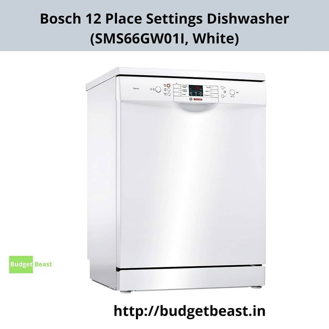 Bosch Dish Washer 12 Place Setting Suitable For Families With Up To 6 Members One Place Setting Consists Of A Dinner Cool Gadgets Place Settings Dishwasher